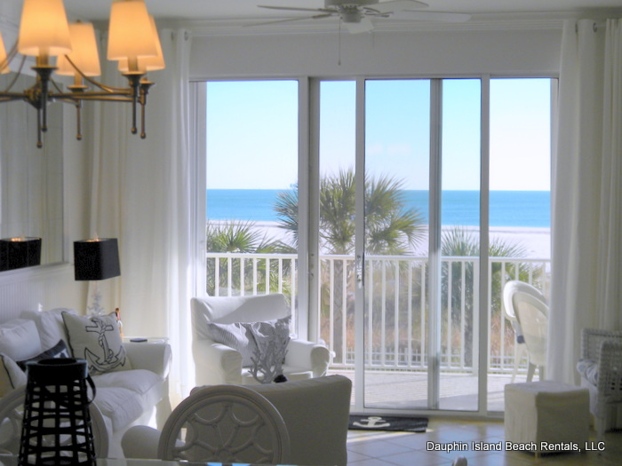 Beautiful Gulf view Condo at the Inn on Dauphin Island