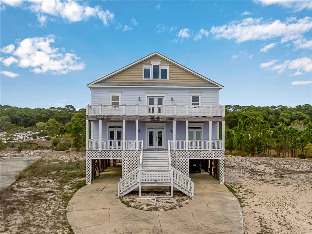 Purple Parrot vacation rental in De Soto Landings, Dauphin Island