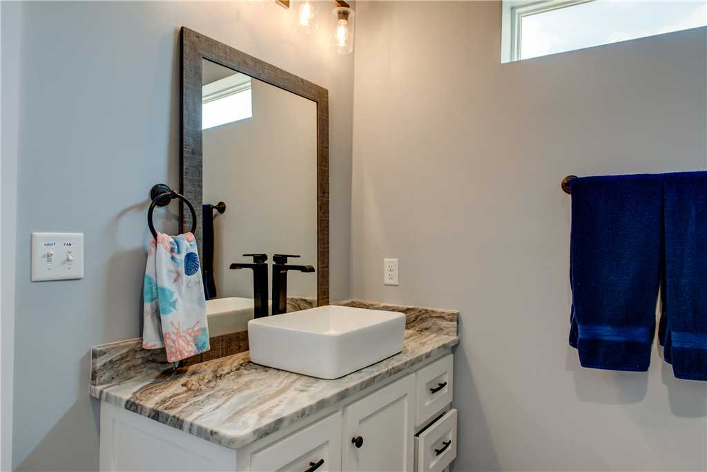 Master Bathroom Dauphin Island Vacation Home