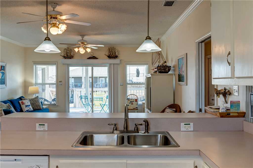 067 Kitchen with Canal View