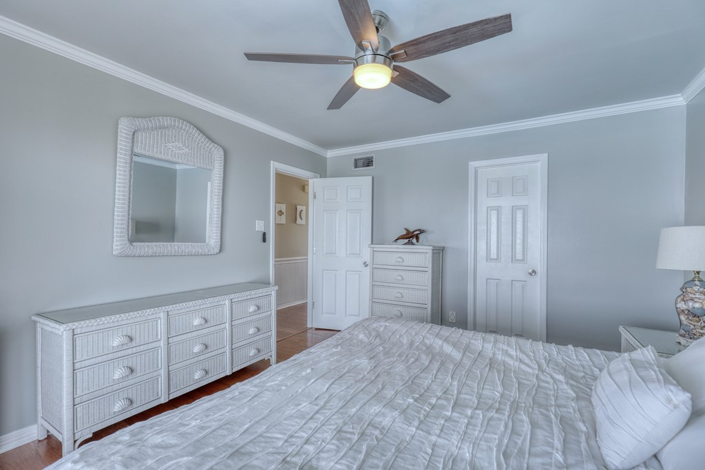 Master Bedroom with real storage
