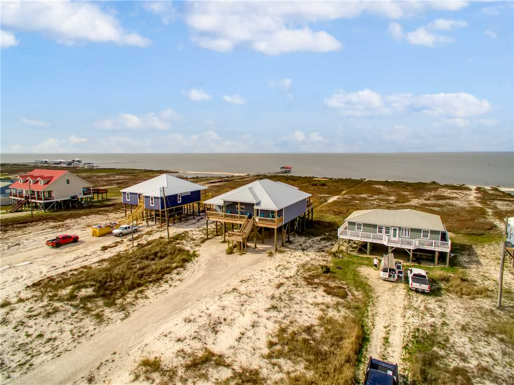 Pet Friendly Bay Front House Across From Gulf Beach
