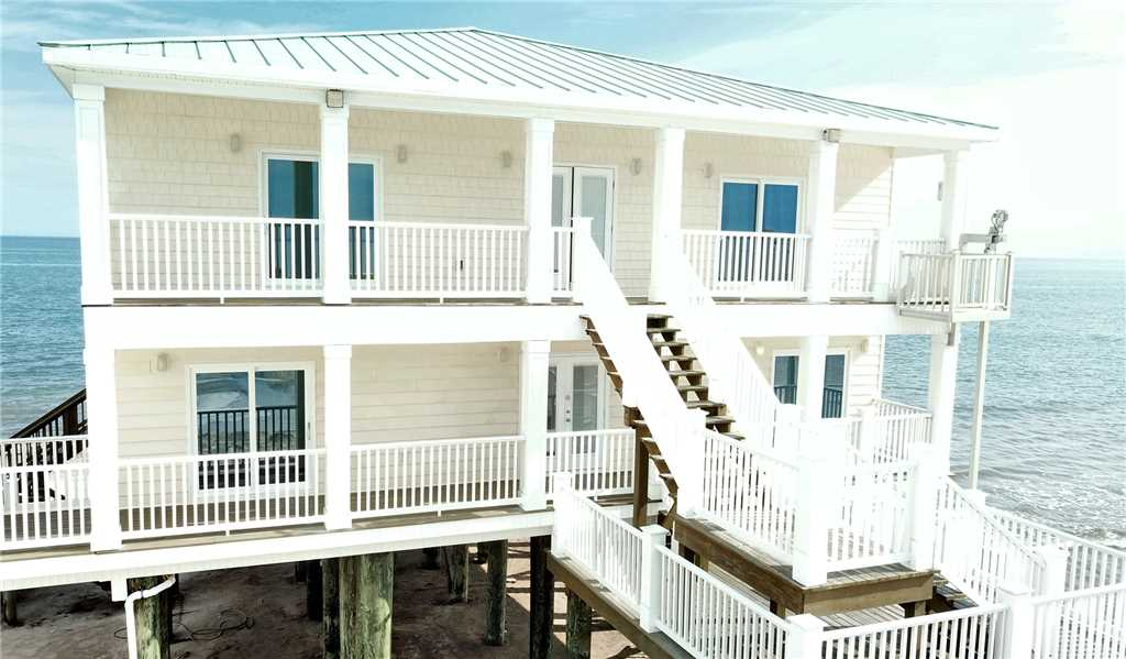 6 Bedroom Gulf-front Home on West End Beach