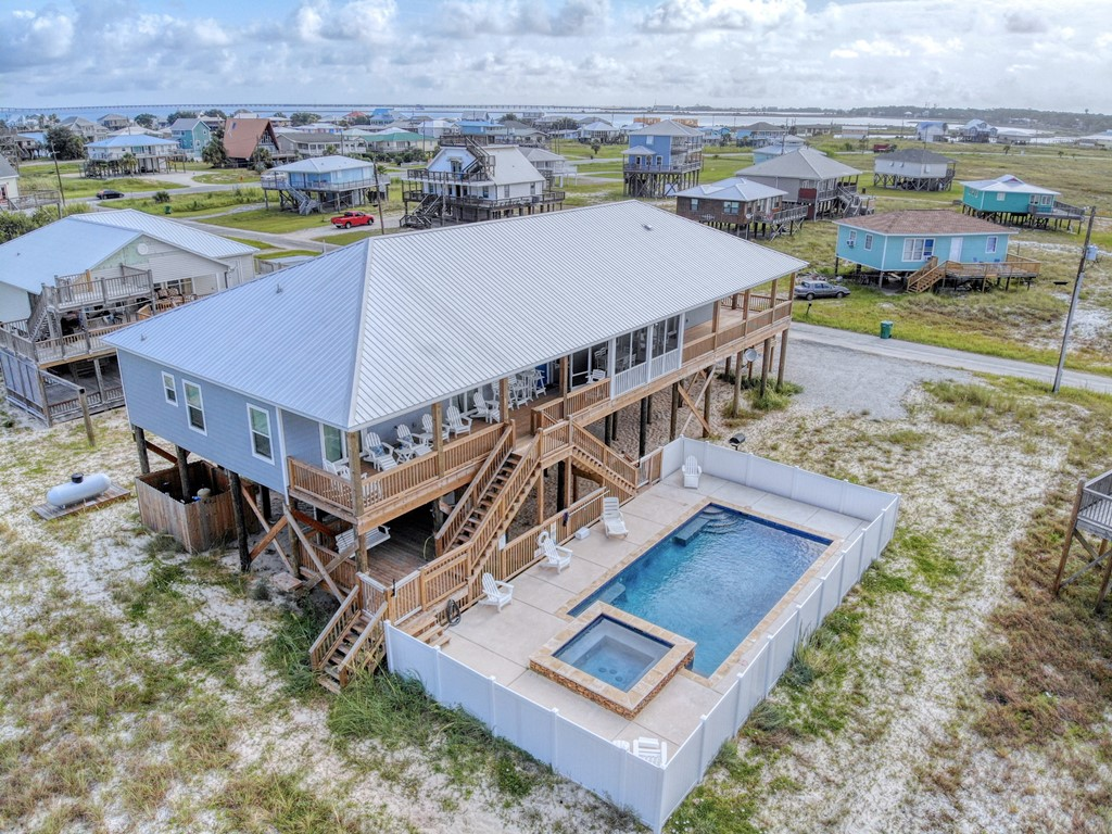 Blessed at the Beach Beach House with pool on Dauphin Island