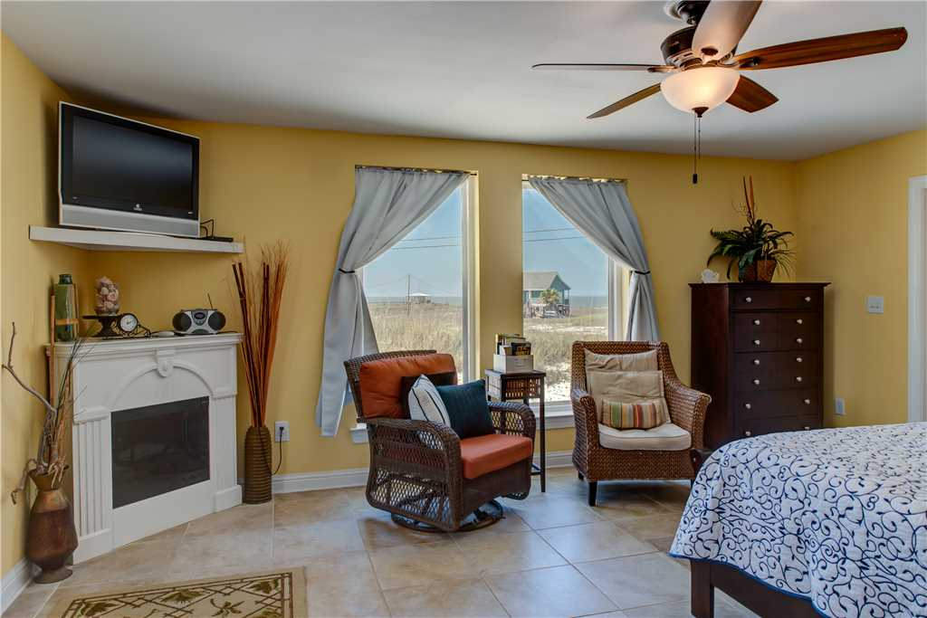 Master Bedroom Dauphin Island Beach Rental