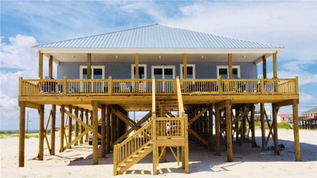 Gulf-facing Porch and Deck
