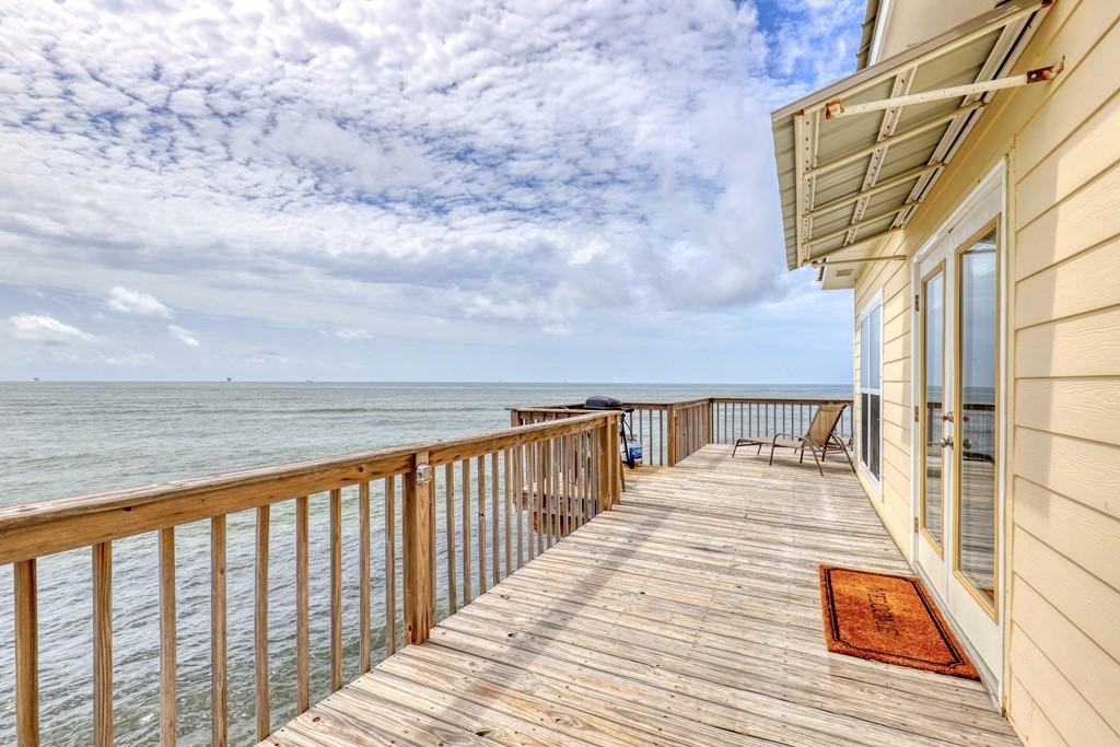 Beautiful Gulf View on deck
