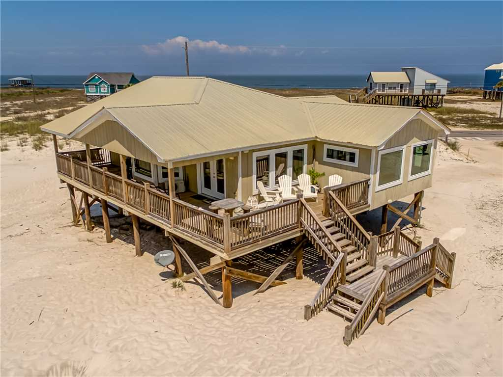 Great Gulf views from this Dauphin Island rental!
