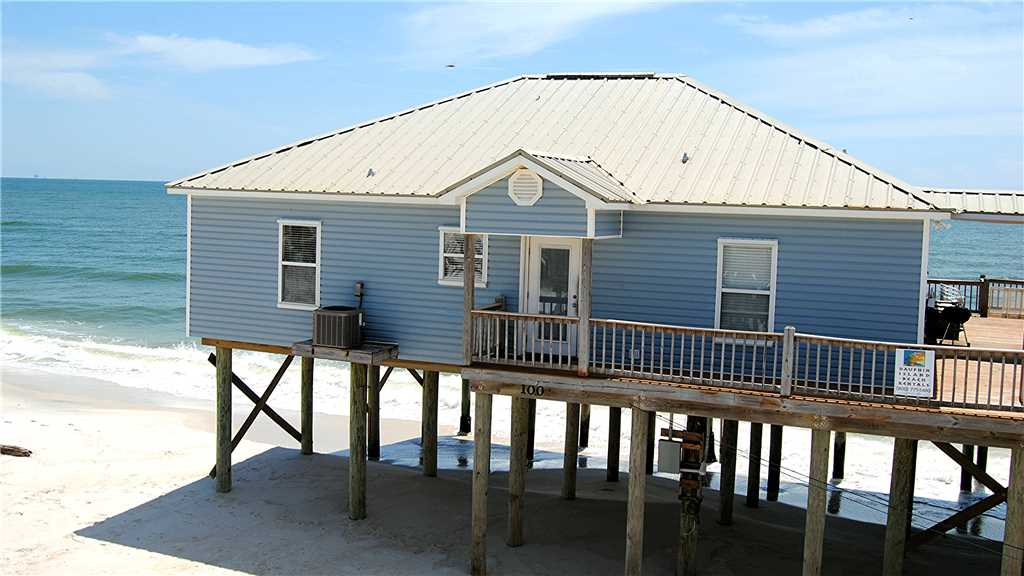 Dauphin Island vacation rental on Gulf beach