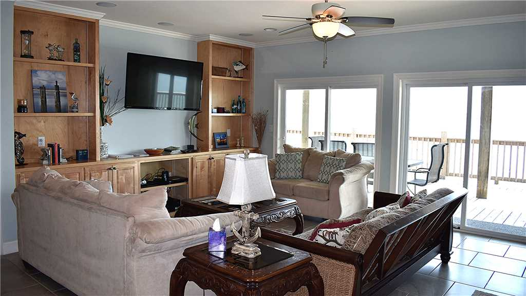 Living Room Dauphin Island Rentals