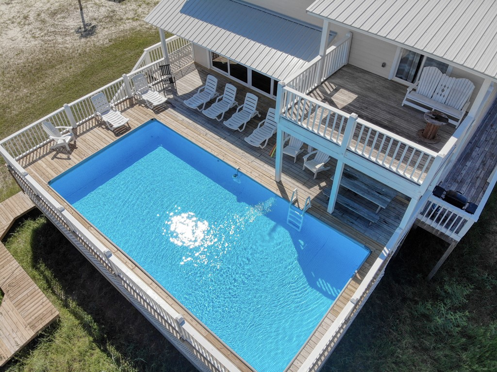 Easy Breezy Dauphin Island Large Pool