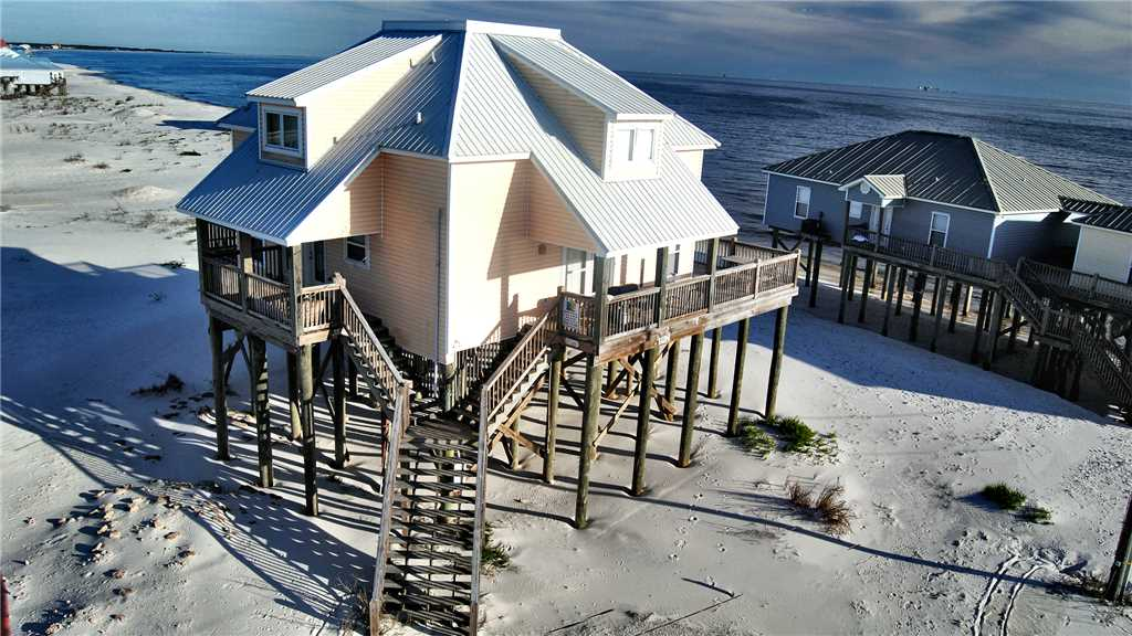 Dauphin Island Pet-friendly Beach House Rental with Pool