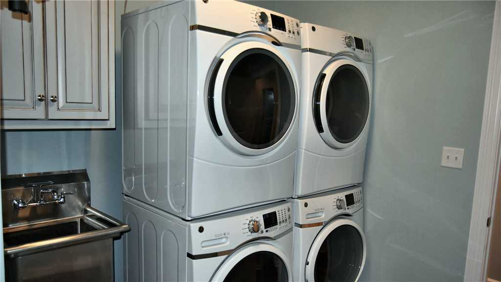Double Washers and Dryers make laundry a breeze