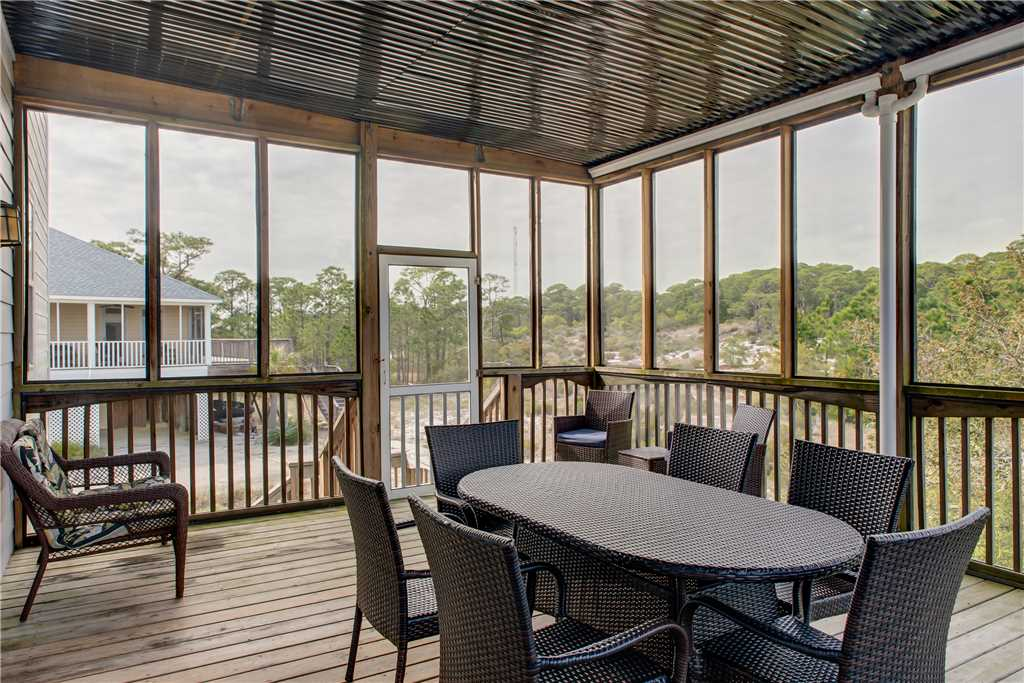 Outdoor Dining Screened Porch Dauphin Island