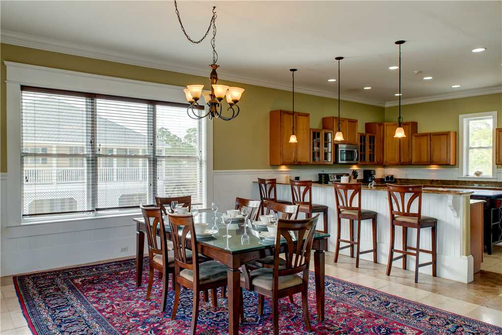 Open Floor Plan Kitchen and Dining Dauphin Island