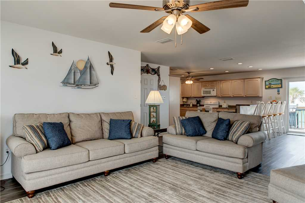 Living Room Pet Friendly Dauphin Island
