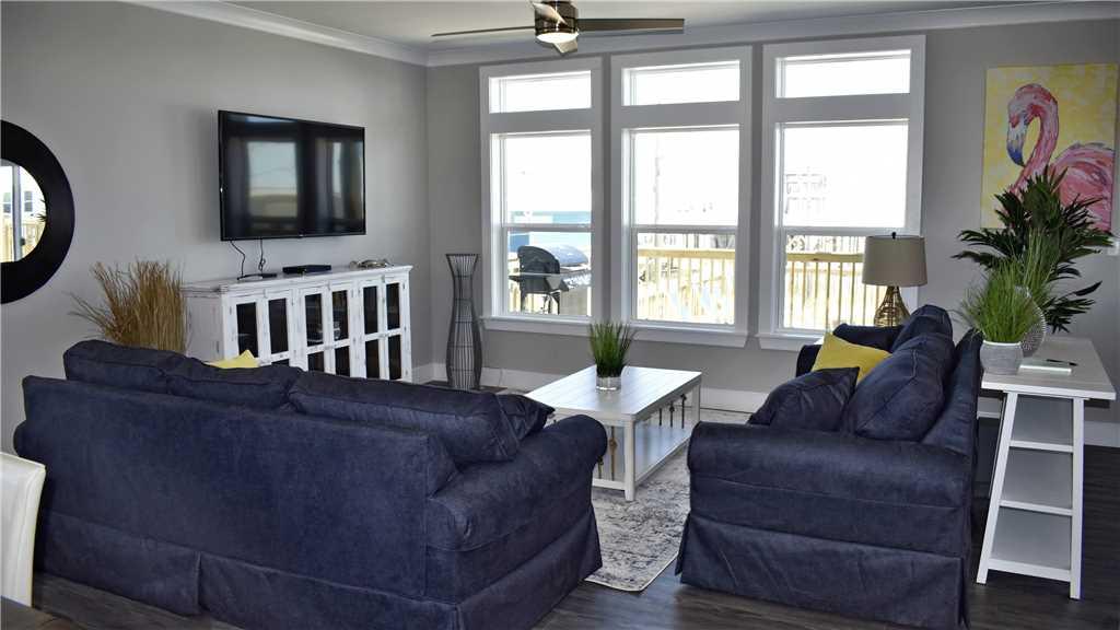 Island Time V Dauphin Island Living Room