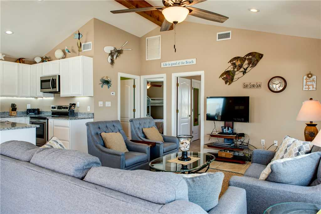 Knee Deep Living Room Dauphin Island Beach