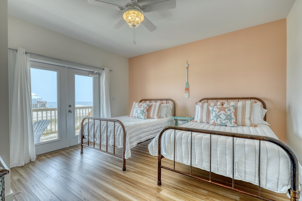 Bedroom 3 with Gulf View