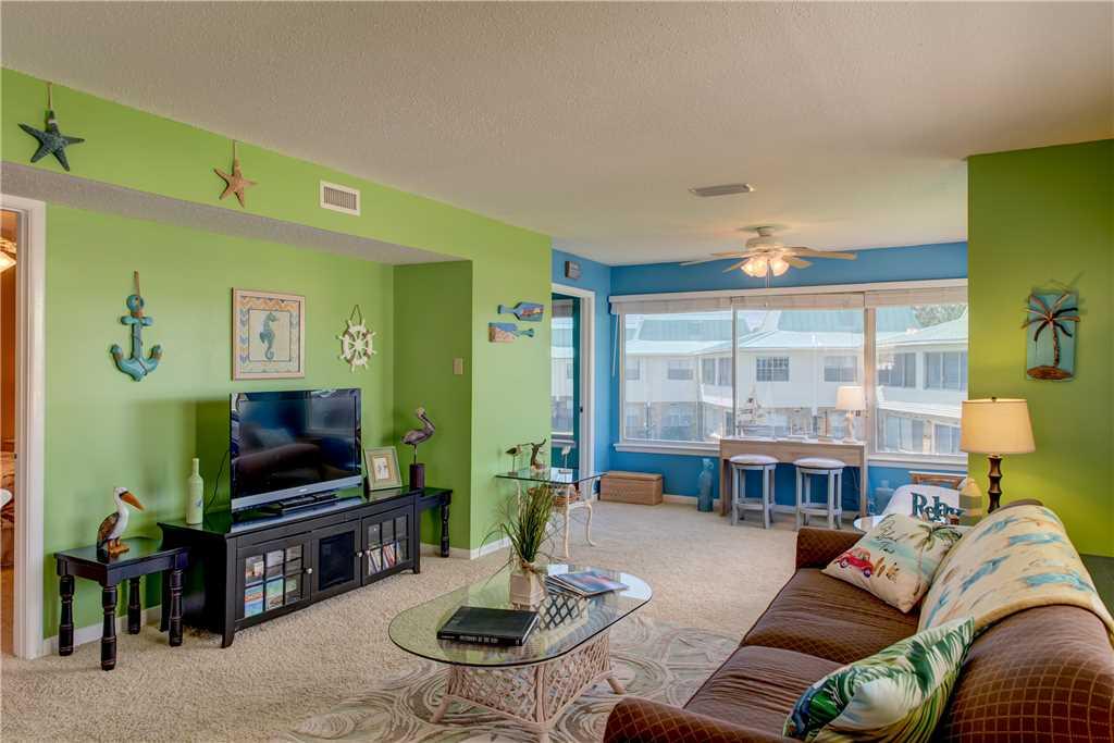 Beach Condo Living Room Dauphin Island