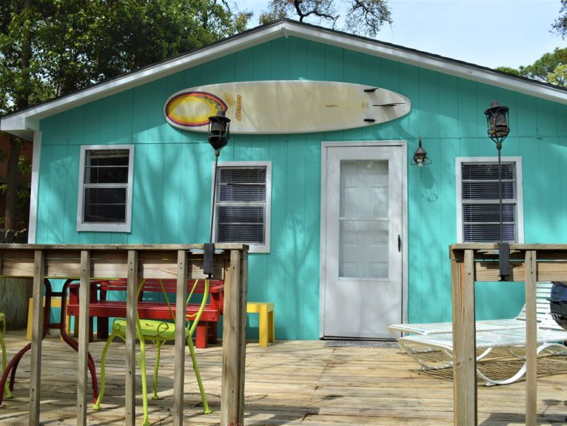 Surf Shack in the Village Dauphin Island