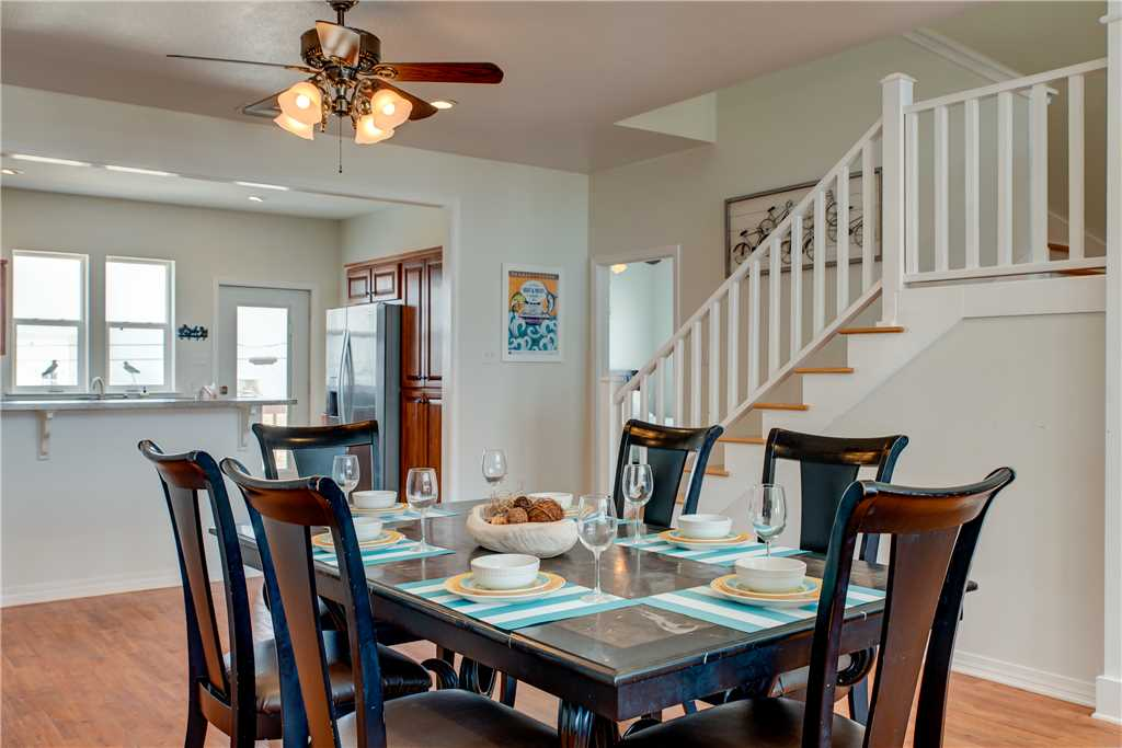 Dining Room Dauphin Island Beach Rental