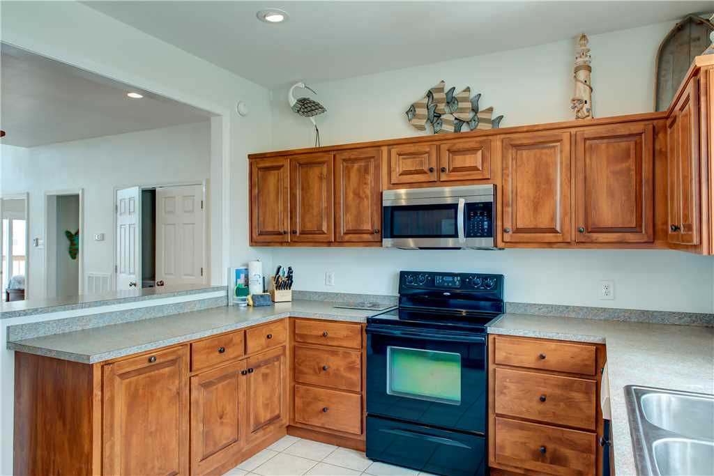 Fully Equipped Kitchen Dauphin Island Beach House