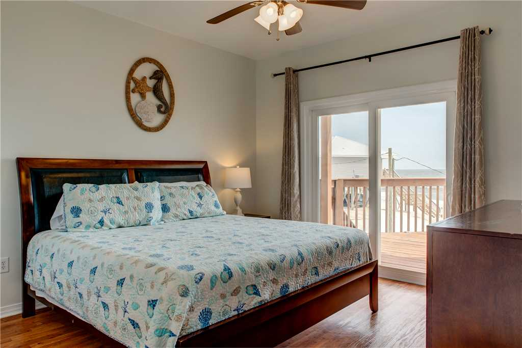 1st Floor Bedroom 2 with Gulf Beach