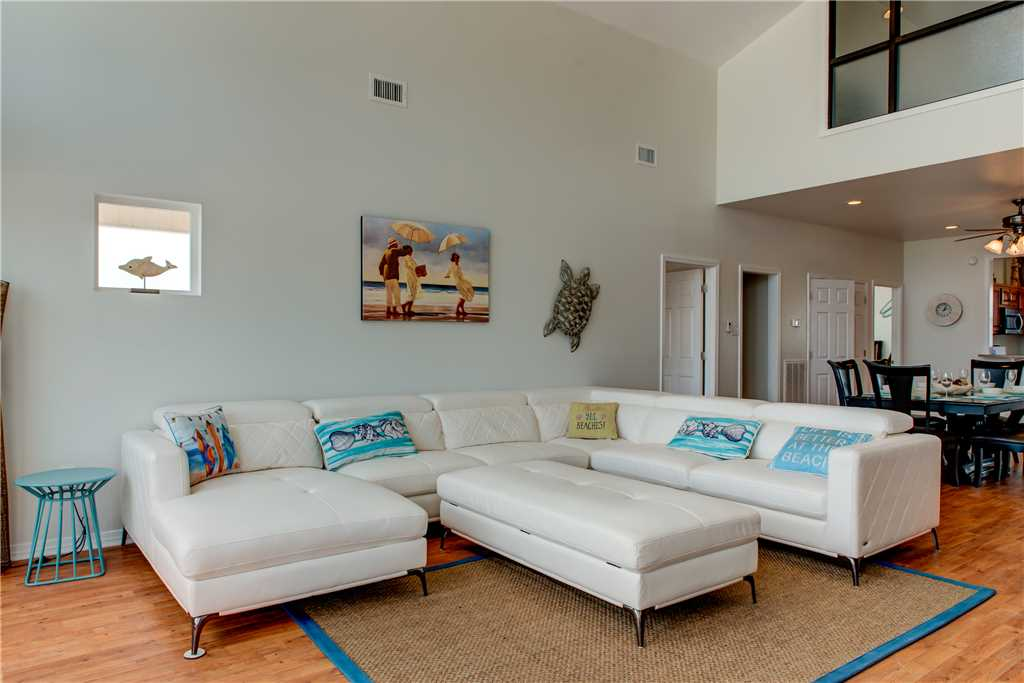 Open Airy Living Room Dauphin Island Beach