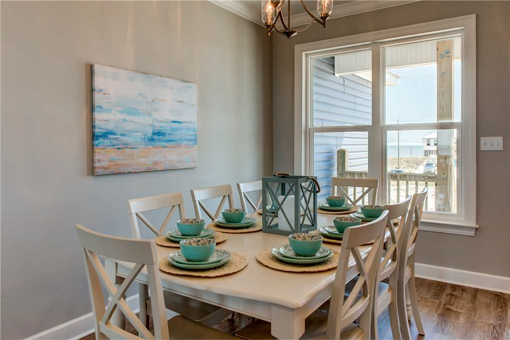 20 Seating for 8 Dauphin Island Dining Room