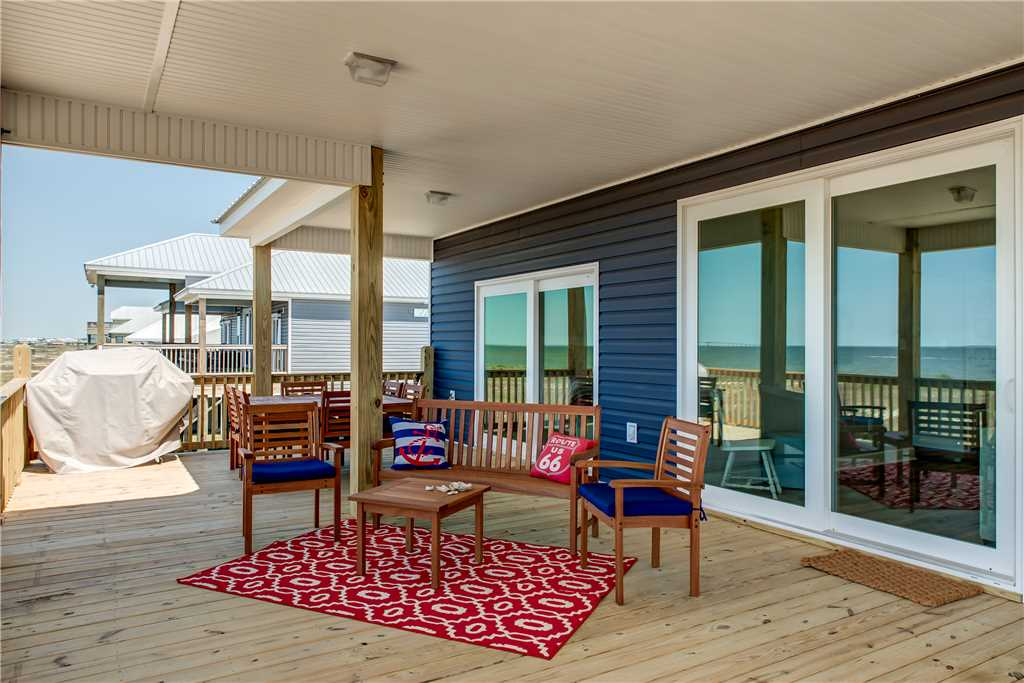 55 Blue Oasis Bayview Deck Dauphin Island