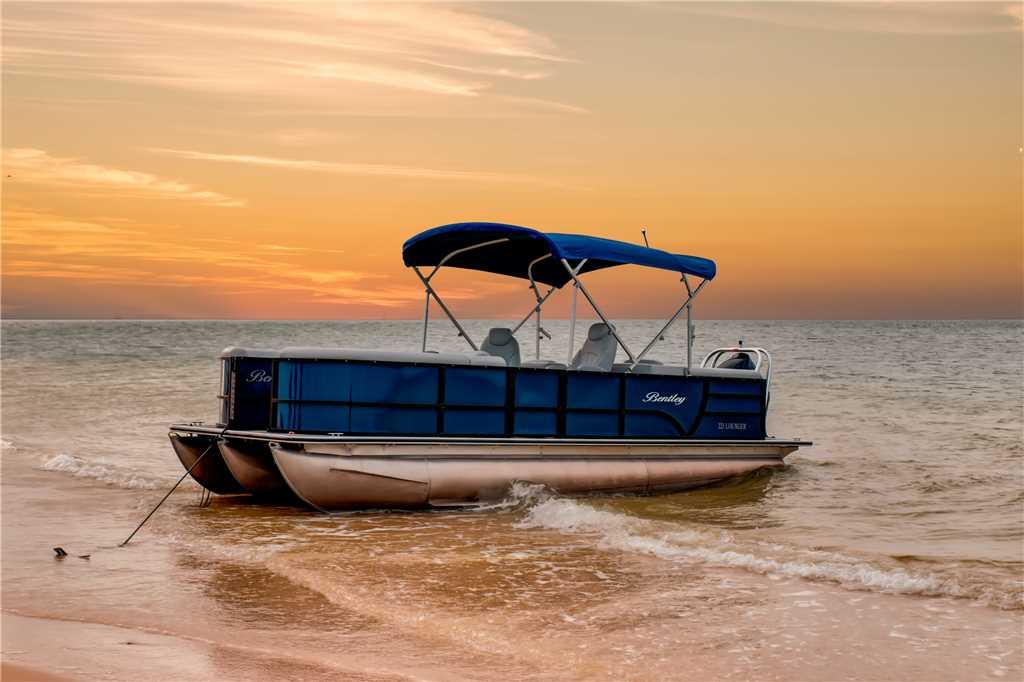 Blue Oasis Bentley Lounger on Dauphin Island