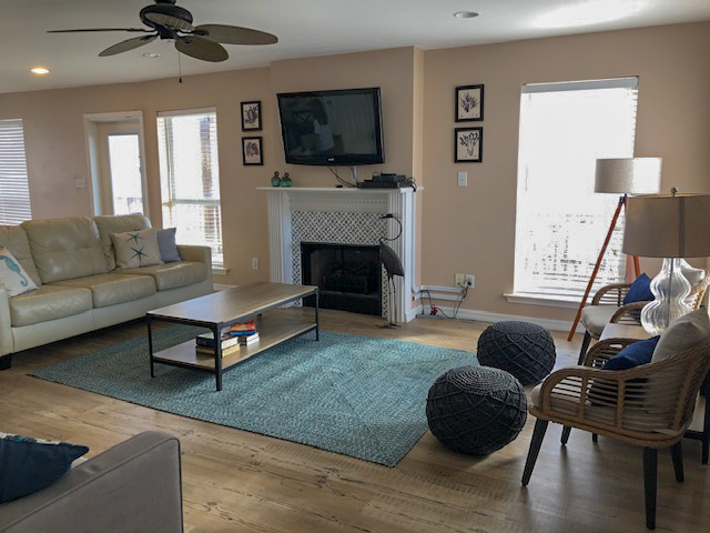 Living Room Island Escape Dauphin Island Beach Rental