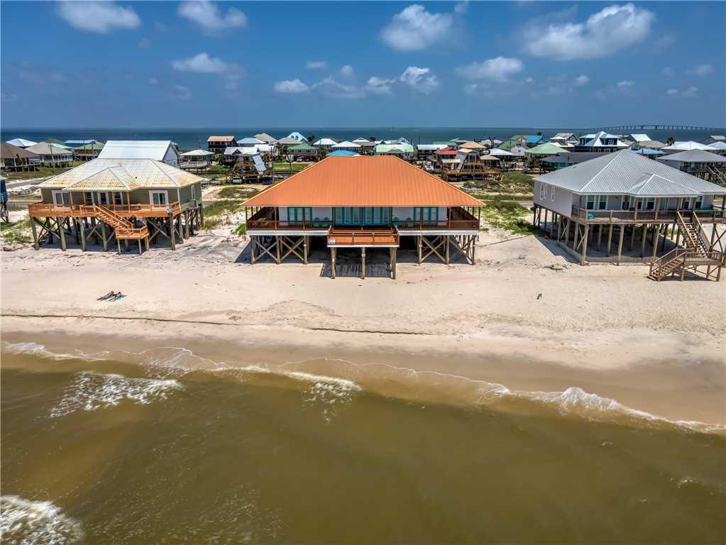 Gulf Front Dauphin Island Beach House