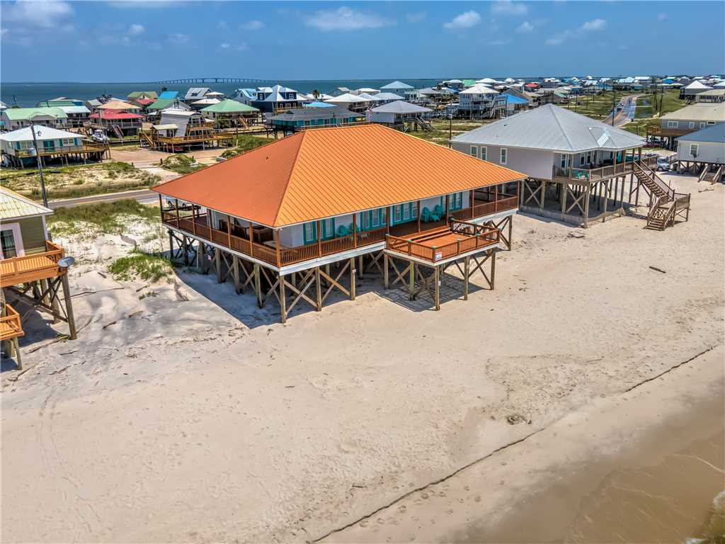 Beach Front Dauphin Island Vacation Home
