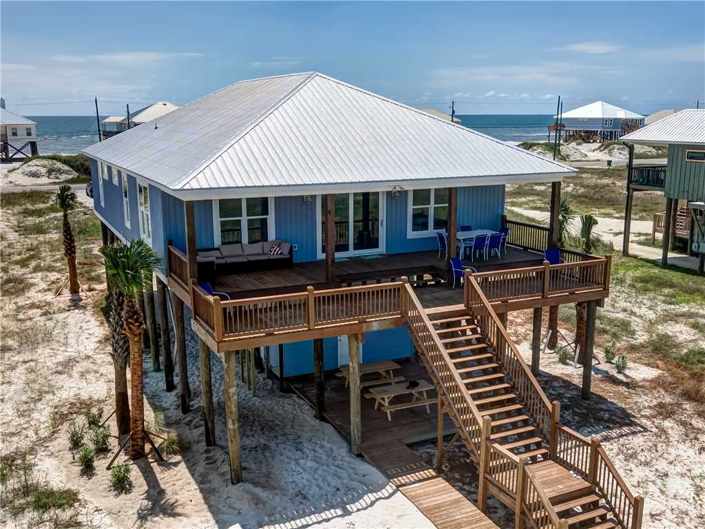 503 Back Proch Living Dauphin Island Vacation