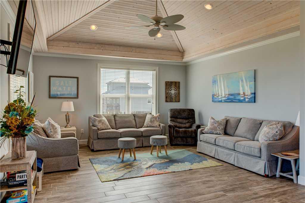 102 Living Room Dauphin Island Vacation Rental