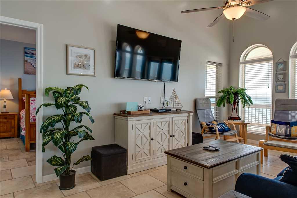 104 Living Room Gulf View Dauphin Island Beach Rental