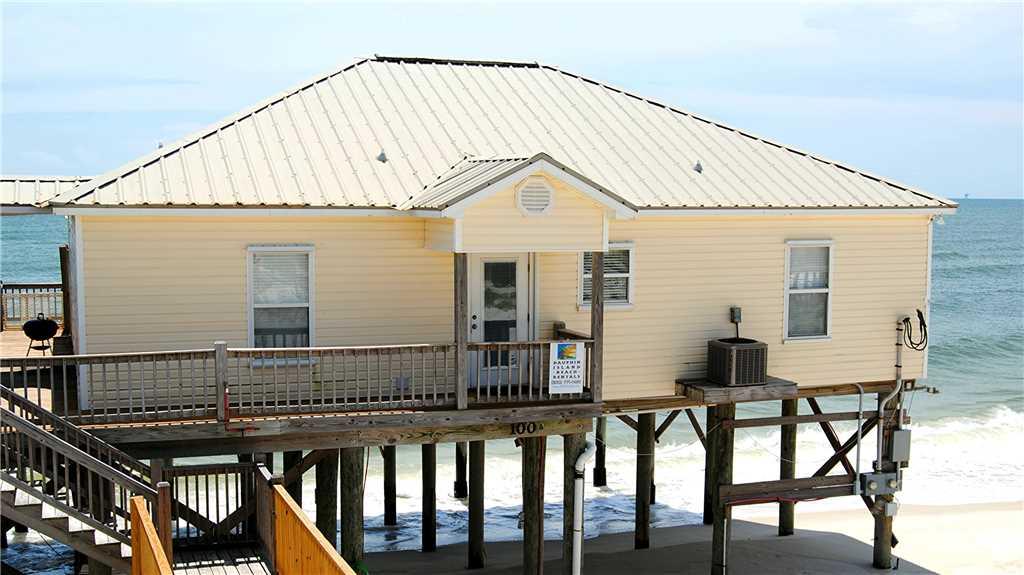 Dauphin Island Gulf-front Beach rentals