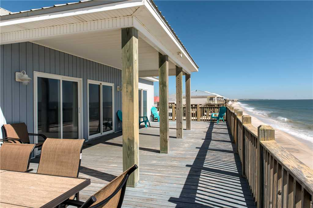 252 Gulf Front Pet Friendly Dauphin Island Vacation Home