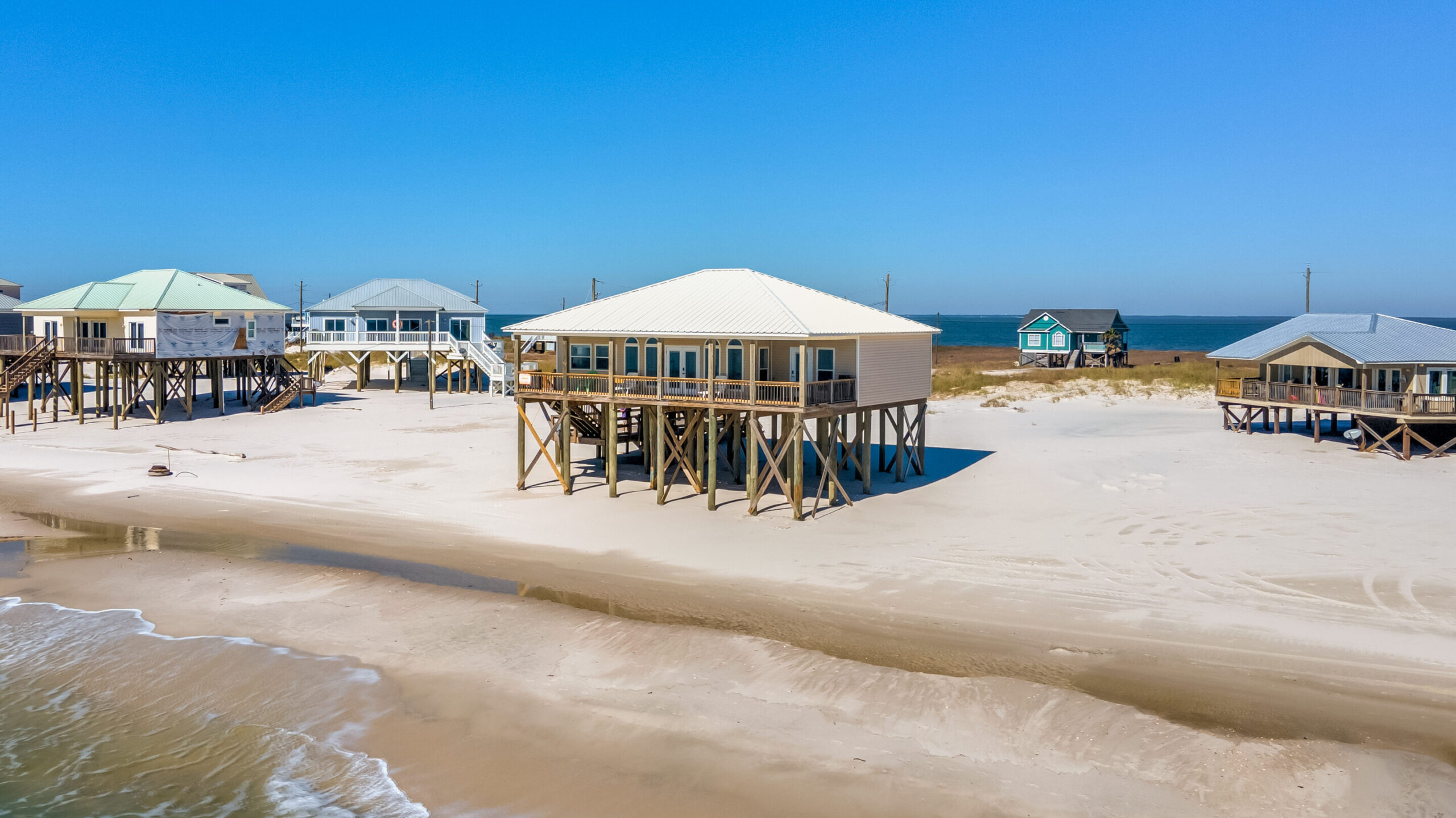 Pet Friendly Beach House Dauphin Island
