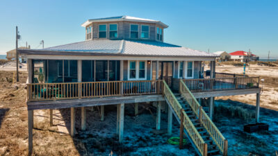 At Last Dauphin Island Beach House
