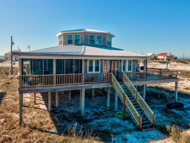 At Last Dauphin Island Beach House