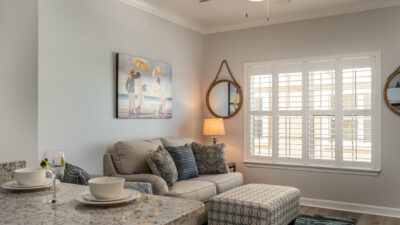 Living Room Wave Loud Dauphin Island Beach Rentals